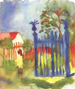 Garden Gates | August Macke | Oil Painting