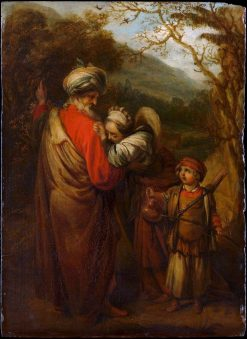Abraham Dismissing Hagar and Ishmael | Barent Fabritius | Oil Painting