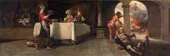 Lazarus and the Rich Man | Barent Fabritius | Oil Painting