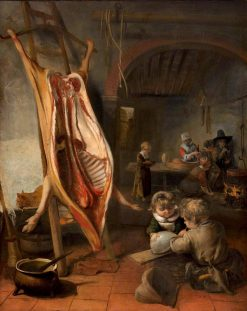 The Slaughtered Swine | Barent Fabritius | Oil Painting