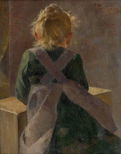 Baby Girl | kos Aranuossy | Oil Painting
