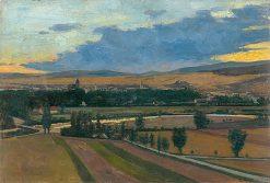 View of Košice | kos Aranuossy | Oil Painting