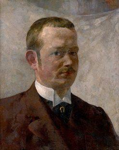 Self-Portrait   kos Aranuossy   Oil Painting