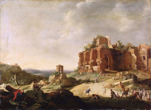 The Stoning of St. Stephen | Bartholomeus Breenbergh | Oil Painting