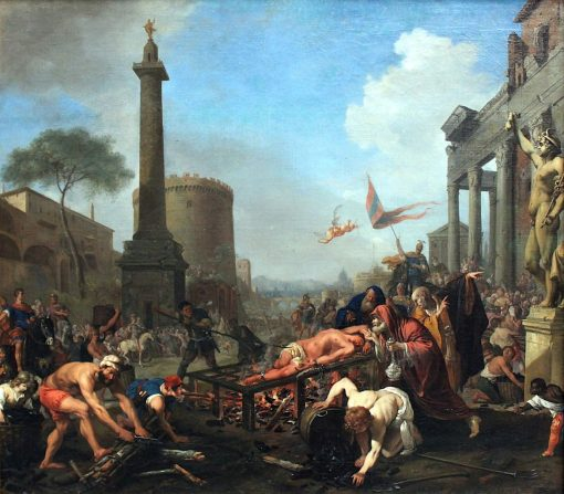 The Martyrdom of St. Laurence | Bartholomeus Breenbergh | Oil Painting
