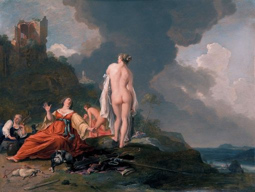 Landscape with Hunting Nymph | Bartholomeus Breenbergh | Oil Painting