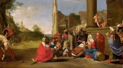 The Adoration of the Magi | Bartholomeus Breenbergh | Oil Painting