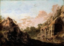 Landscape with Ruins | Bartholomeus Breenbergh | Oil Painting