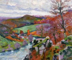 Landscape of la Creuse | Armand Guillaumin | Oil Painting