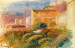 The Post House at Cagnes | Pierre Auguste Renoir | Oil Painting