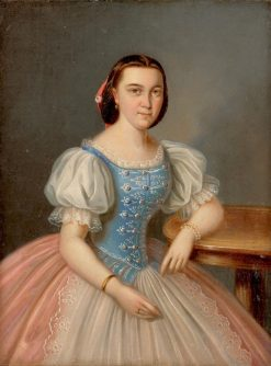 Anny Šípkovej ako verenice Mórica Philadelphiho | Peter Michal Bohú? | Oil Painting