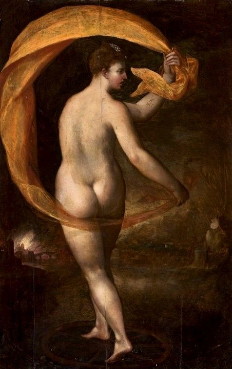 Allegory of Fortune | Bartholomaeus Spranger | Oil Painting