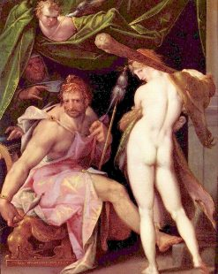 Herakles and Omphale | Bartholomaeus Spranger | Oil Painting