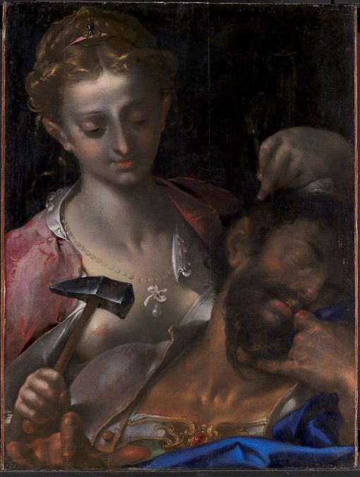Jael Kills Sisera | Bartholomaeus Spranger | Oil Painting