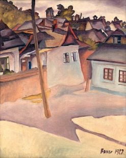 Cigánsky tábor | Konštantín Bauer | Oil Painting