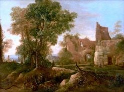 Landscape with Ruin | Jan Both | Oil Painting