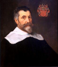 Portrait of Dirck de Vlaming van Oudtshoorn | Bartholomeus van der Helst | Oil Painting