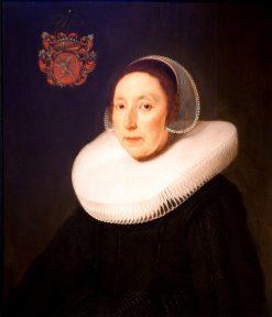 Portrait of the Burgermeester's Wife