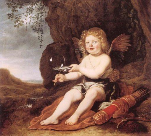 Boy as Cupid | Bartholomeus van der Helst | Oil Painting