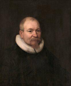 Samuel van Lansbergen. Remonstrant minister in Rotterdam | Bartholomeus van der Helst | Oil Painting