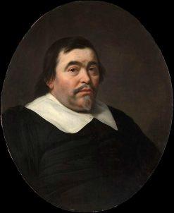 Portrait of a Man   Bartholomeus van der Helst   Oil Painting