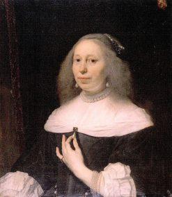 Portrait of Wilhelmina van Bronckhorst | Bartholomeus van der Helst | Oil Painting