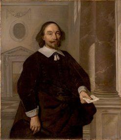 Portrait of Michiel Heusch | Bartholomeus van der Helst | Oil Painting
