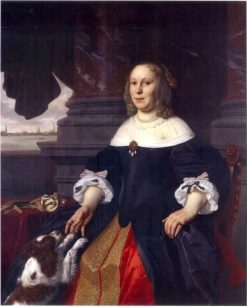 Portrait of Catharina Claesdr. Gaeff alias Lambertsdr. Opsy | Bartholomeus van der Helst | Oil Painting