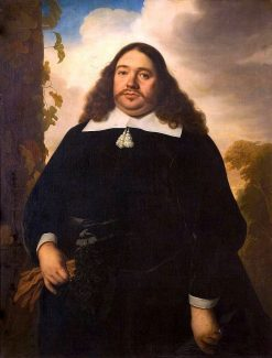 Portrait of a Man of the Hinlopen Family | Bartholomeus van der Helst | Oil Painting