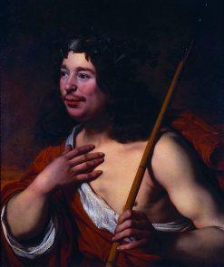 Self Portrait as Daifilo | Bartholomeus van der Helst | Oil Painting