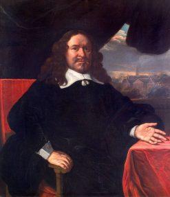 Portrait of Joan Huydekoper | Bartholomeus van der Helst | Oil Painting