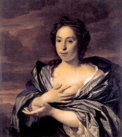 Portrait of a Lady   Bartholomeus van der Helst   Oil Painting