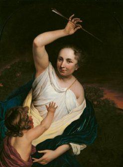 Venus Punishing Cupid | Bartholomeus van der Helst | Oil Painting