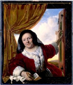 Woman in the Window | Bartholomeus van der Helst | Oil Painting