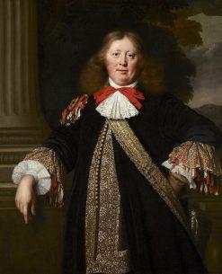 Portrait of a Burgomaster | Bartholomeus van der Helst | Oil Painting