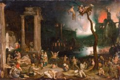 Aeneas and the Sibyl in the Underworld | Jan Brueghel the Elder | Oil Painting