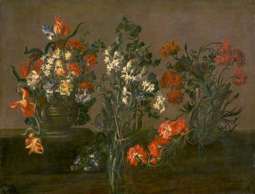 Floral Still Life | Jakob Bogdány | Oil Painting