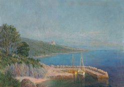 Prímorská krajina | Dezider Czölder | Oil Painting