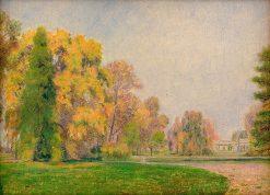 Jesenný park | Dezider Czölder | Oil Painting