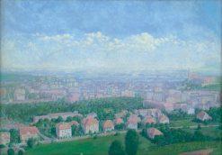 Poh?ad na ružové mesto | Dezider Czölder | Oil Painting