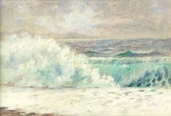Biele vlnobitie | Dezider Czölder | Oil Painting