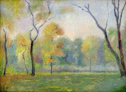 túdia jesenného parku | Dezider Czölder | Oil Painting