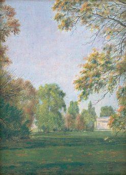Parkový motív | Dezider Czölder | Oil Painting