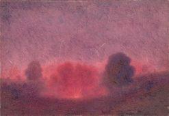 Doberd - výjav z I.svetovej vojny | Dezider Czölder | Oil Painting