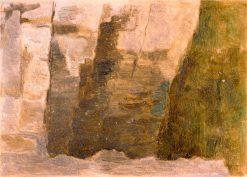 Hnedé skaly | Dezider Czölder | Oil Painting