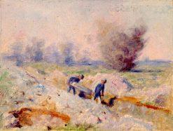 Z talianskeho frontu VII | Dezider Czölder | Oil Painting
