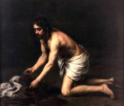 Christ after the Flagellation | Bartolomé Esteban Murillo | Oil Painting