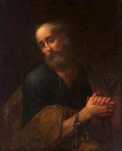 Saint Peter in Prayer | Bartolomé Esteban Murillo | Oil Painting