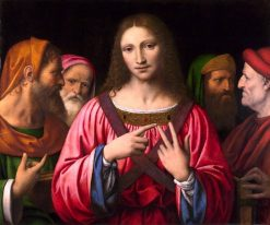 Christ among the Doctors | Bernardino Luini | Oil Painting