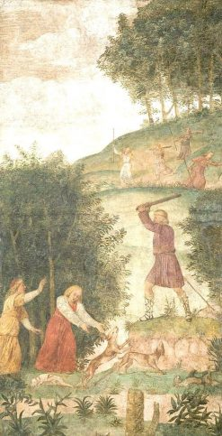 Cephalus Punished at the Hunt   Bernardino Luini   Oil Painting